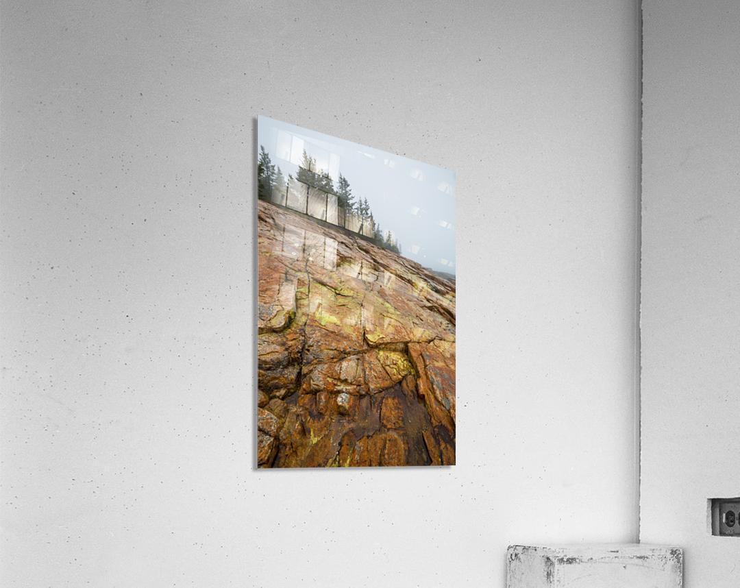 Granite Rock ap 2285  Acrylic Print