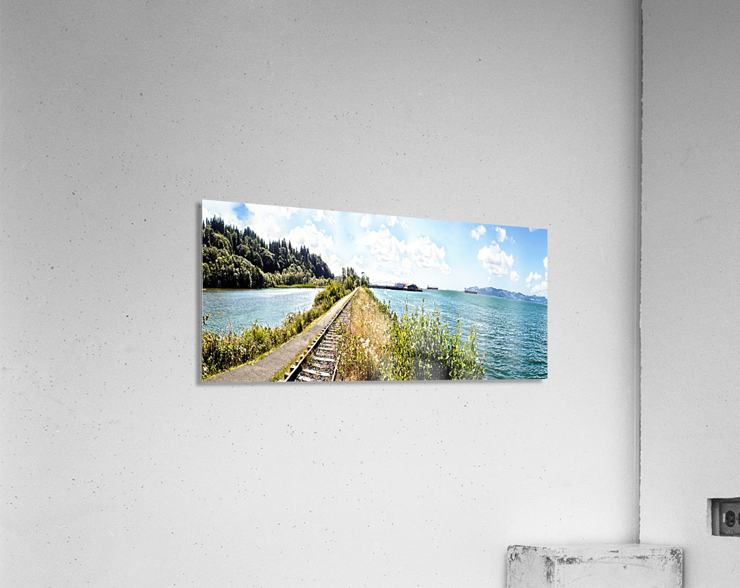 One Day in Astoria  Acrylic Print