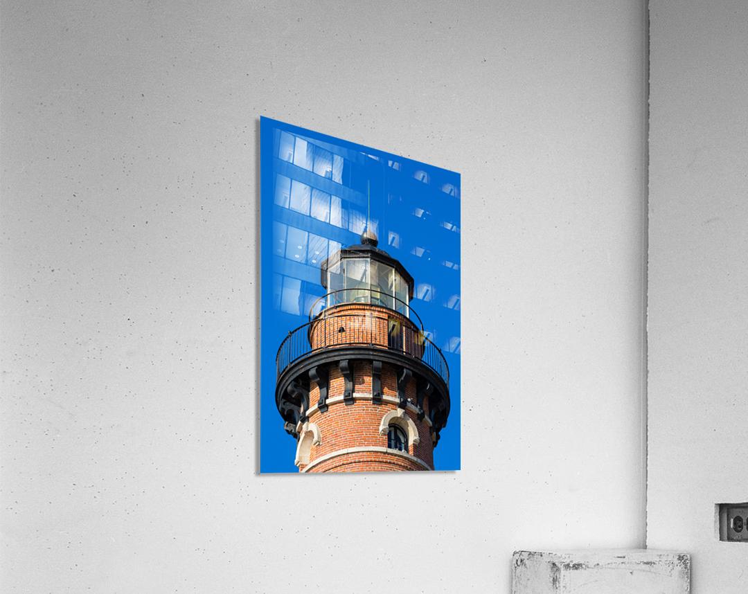 Fresnel Lens ap 2444  Acrylic Print