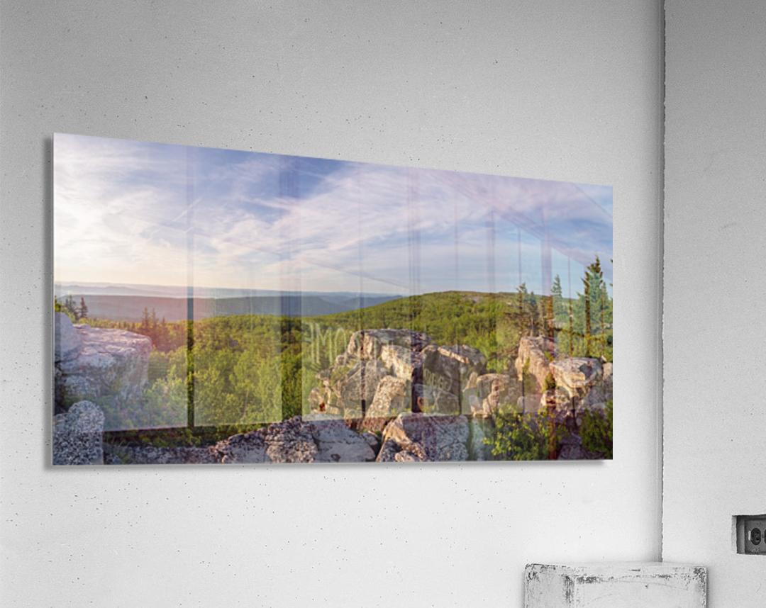 Bear Rocks at Sunrise apmi 1714  Acrylic Print