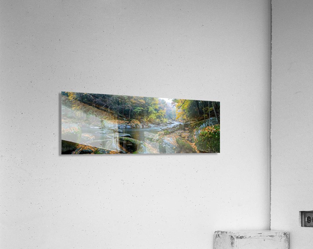 Slippery Rock Creek apmi 1931  Impression acrylique