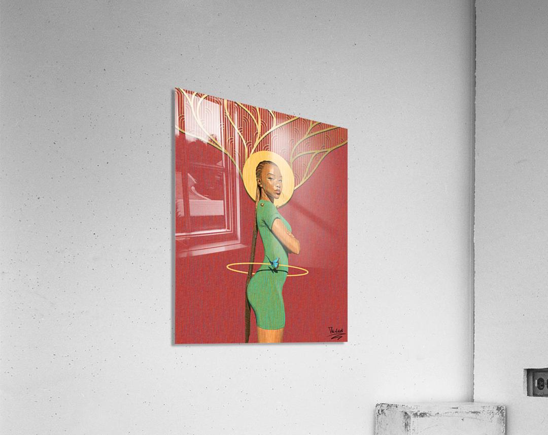 The Curve  Acrylic Print