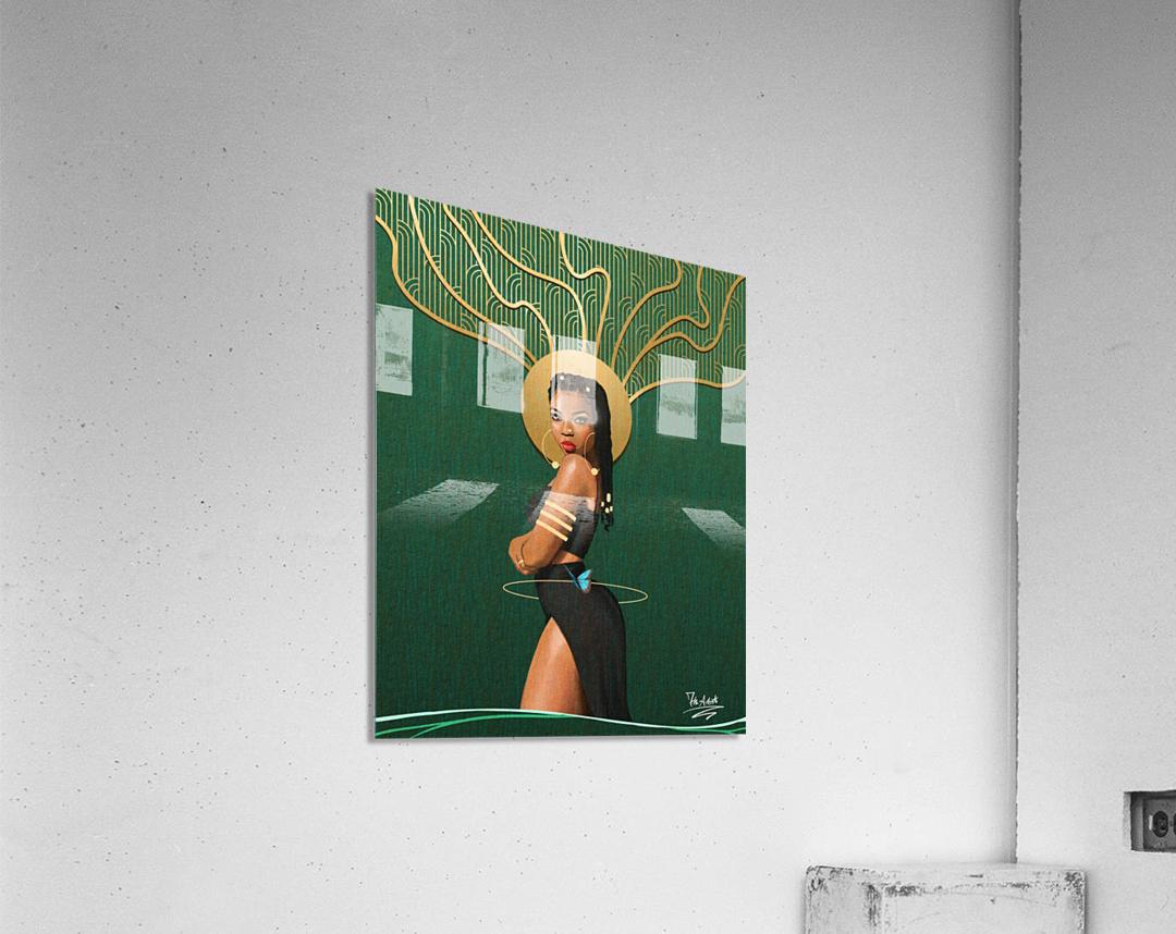 The Curve 2  Acrylic Print