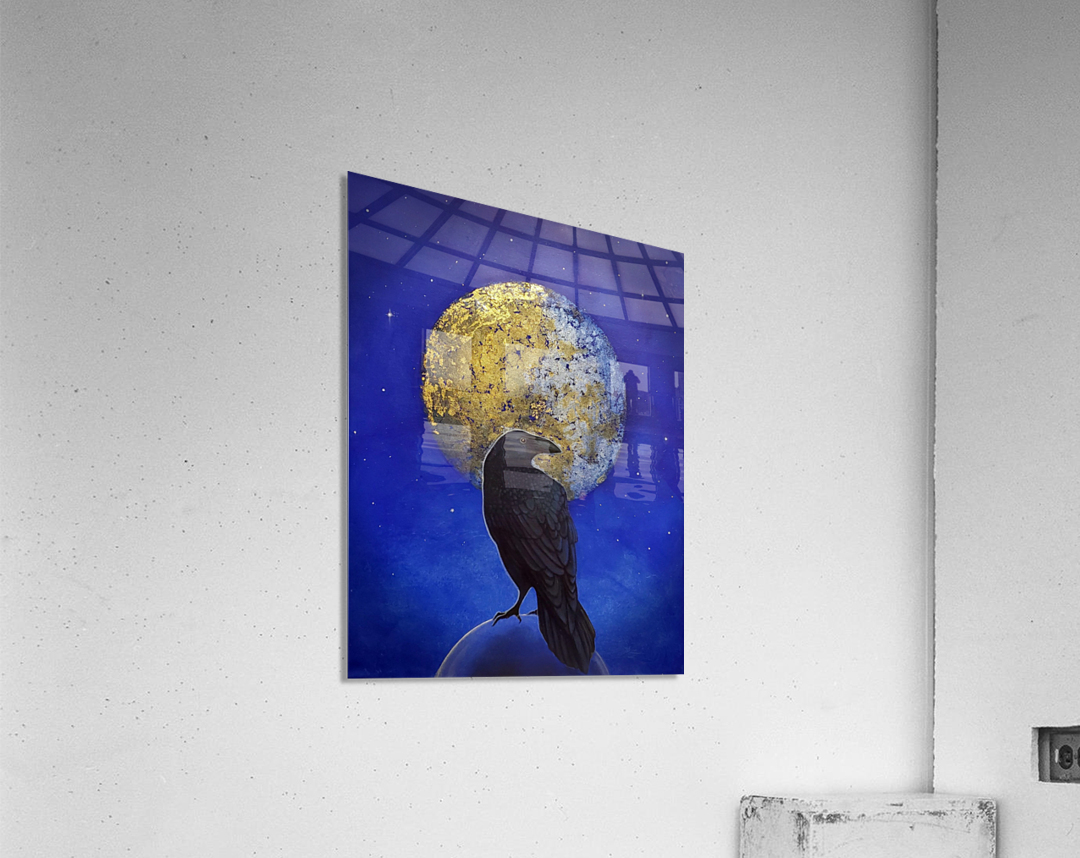 Raven Shine  Acrylic Print