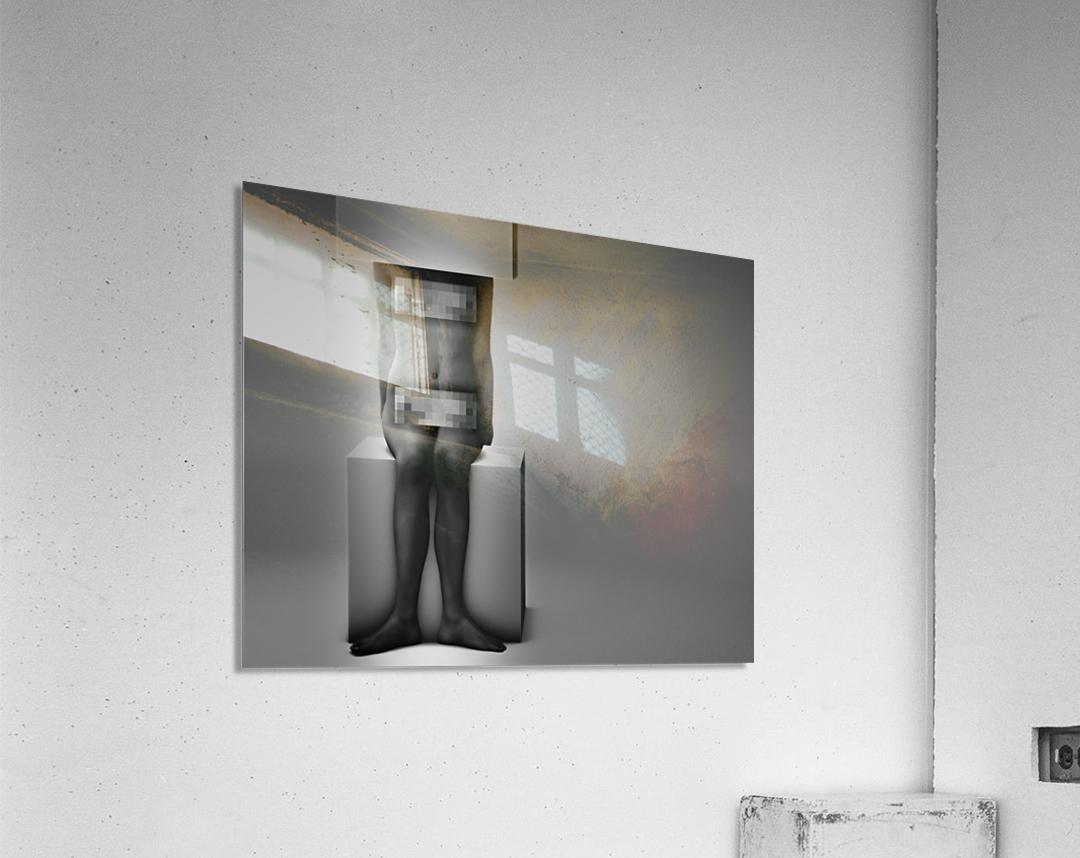 Life In A Box 1Illusion Contemplation   Acrylic Print
