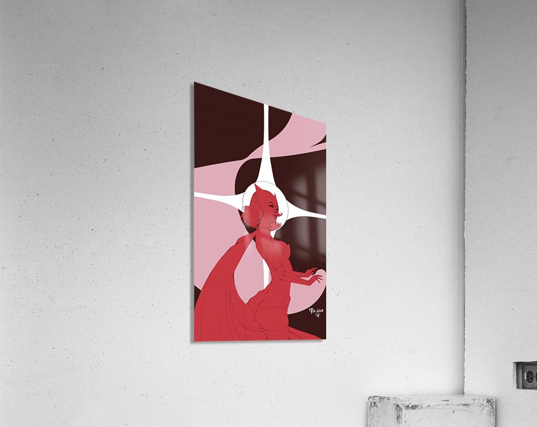 Scarlet Witch Flats  Acrylic Print