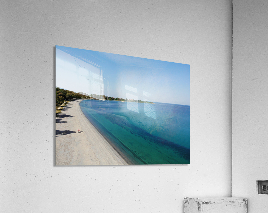 Greece coast near Lefkada  Acrylic Print