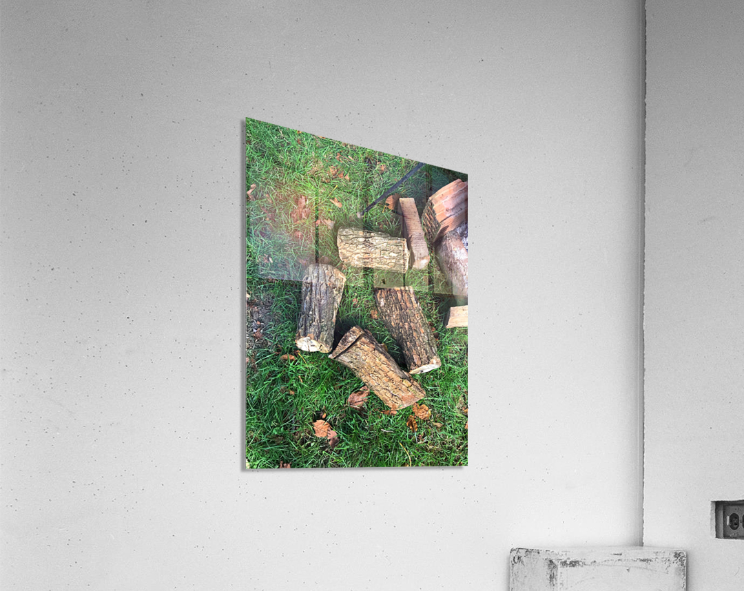 wood for fire  Acrylic Print