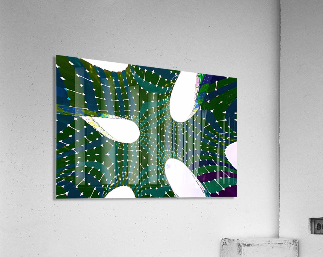 Vaulted Rainbow  Acrylic Print