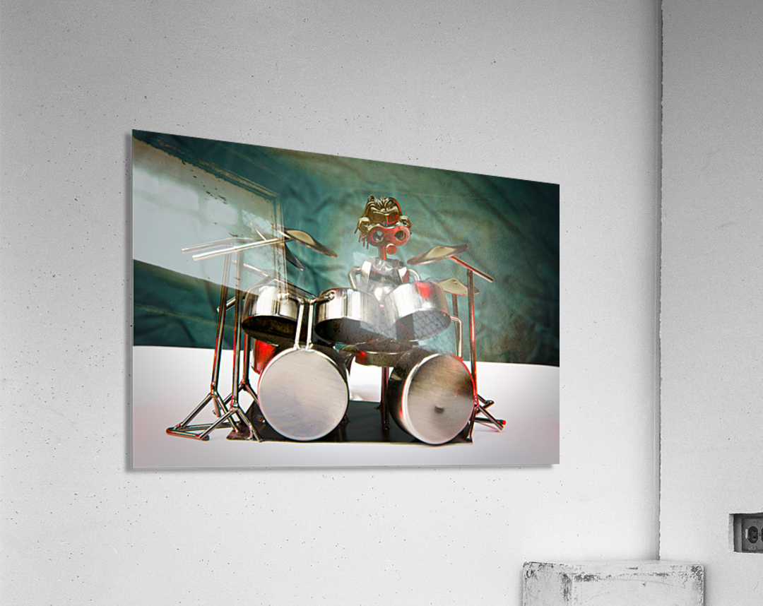 Nuthead on the Drums  Acrylic Print