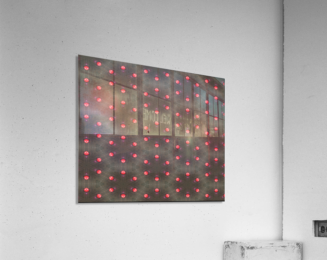 redbeads  Acrylic Print