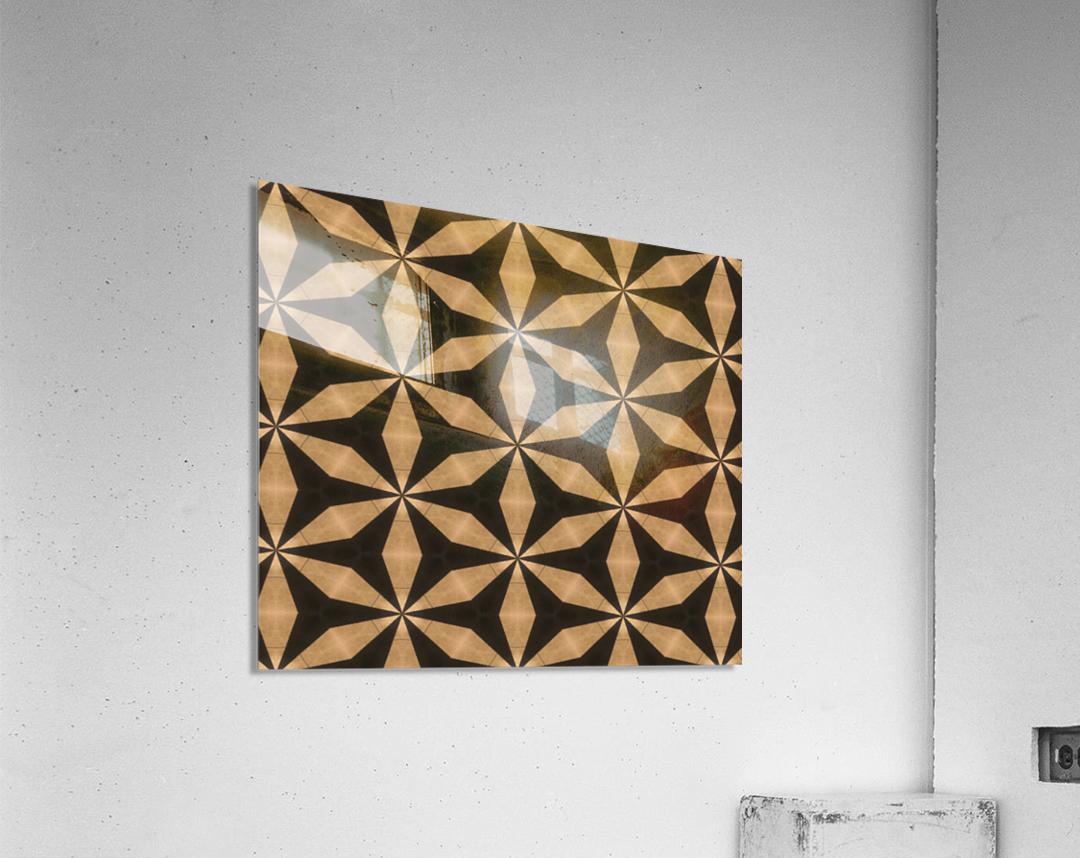goldenstars  Acrylic Print