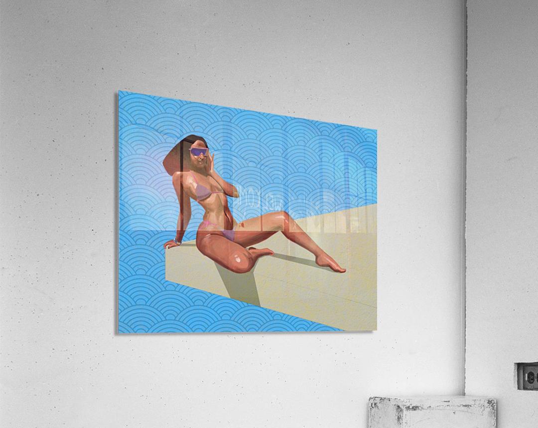 Sunbather  Acrylic Print