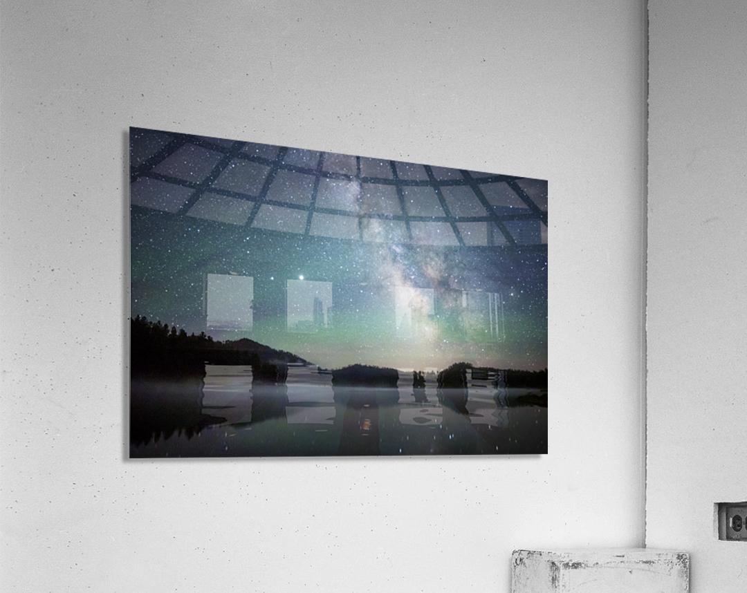 Stockade Lake and The Milky Way  Acrylic Print