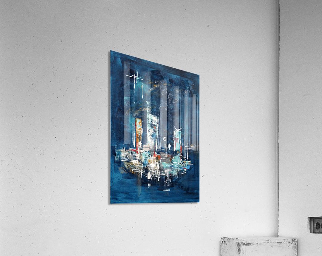 Uptown starry night II  Acrylic Print