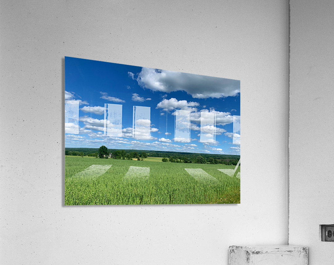 My Blue Heaven  Acrylic Print