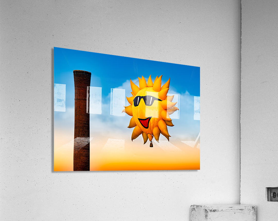 Sunny and the Smokestack  Acrylic Print
