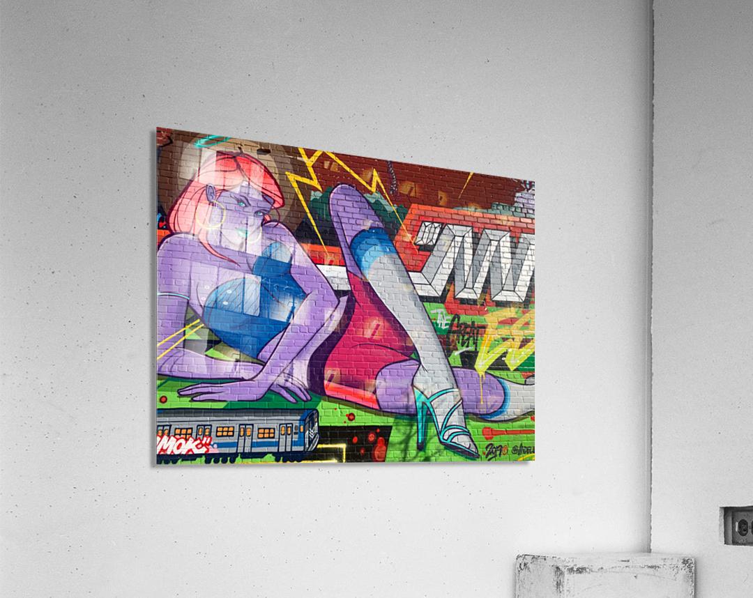 Graffiti Glam   Acrylic Print