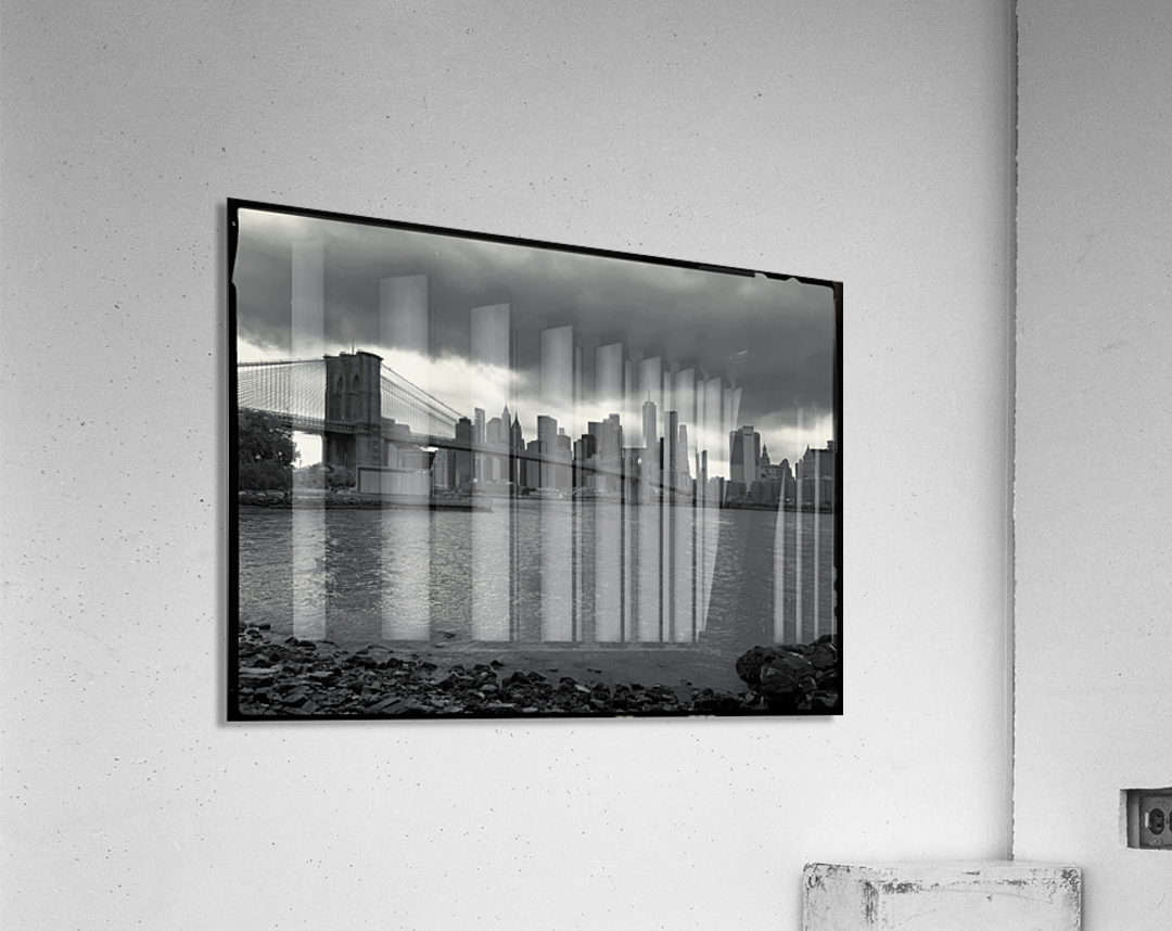 Gotham City   Acrylic Print