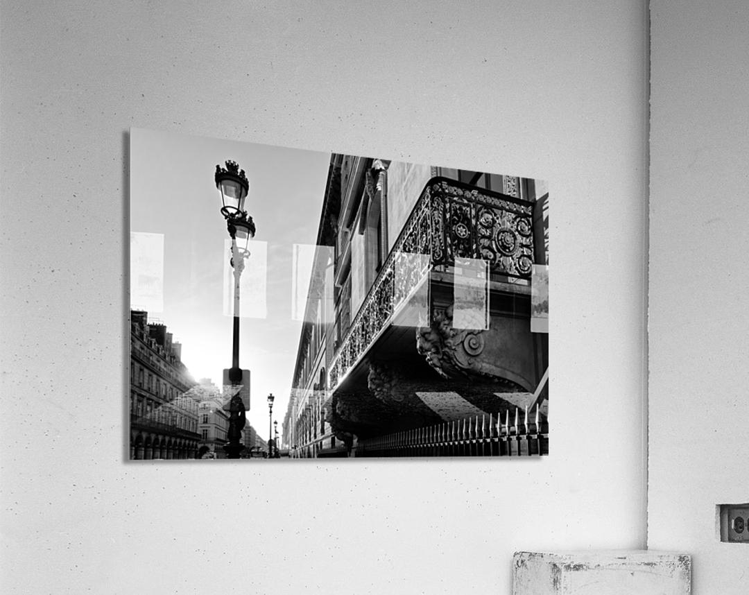 Rivoli balcony  Impression acrylique