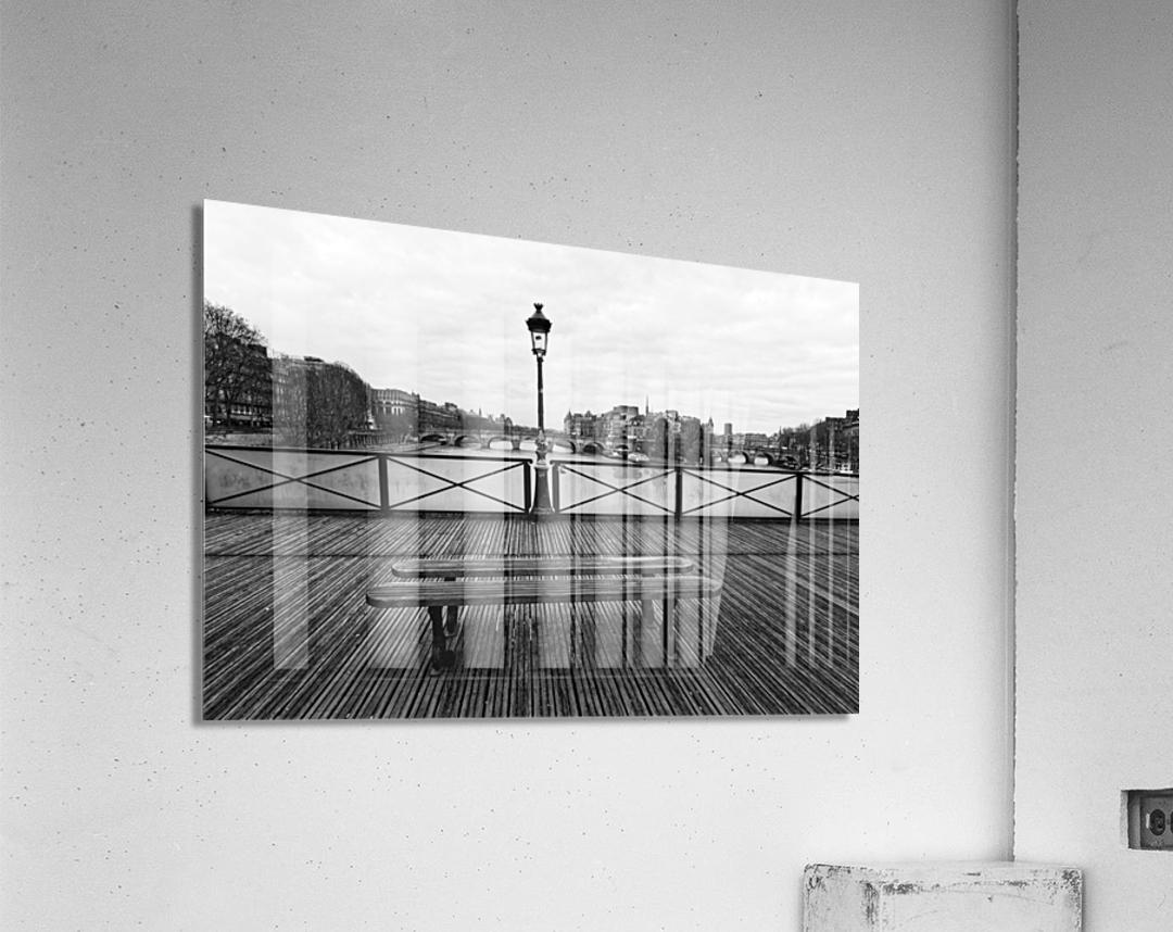 Wooden landscape  Impression acrylique