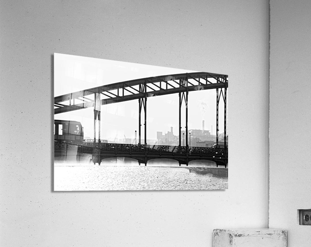 Austerlitz viaduct  Impression acrylique