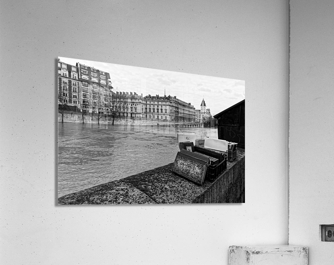 Paris quay  Impression acrylique