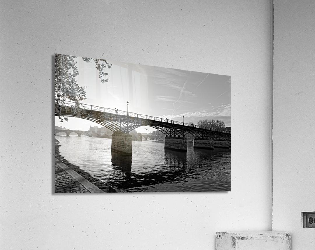 Pont des arts sunrise  Impression acrylique