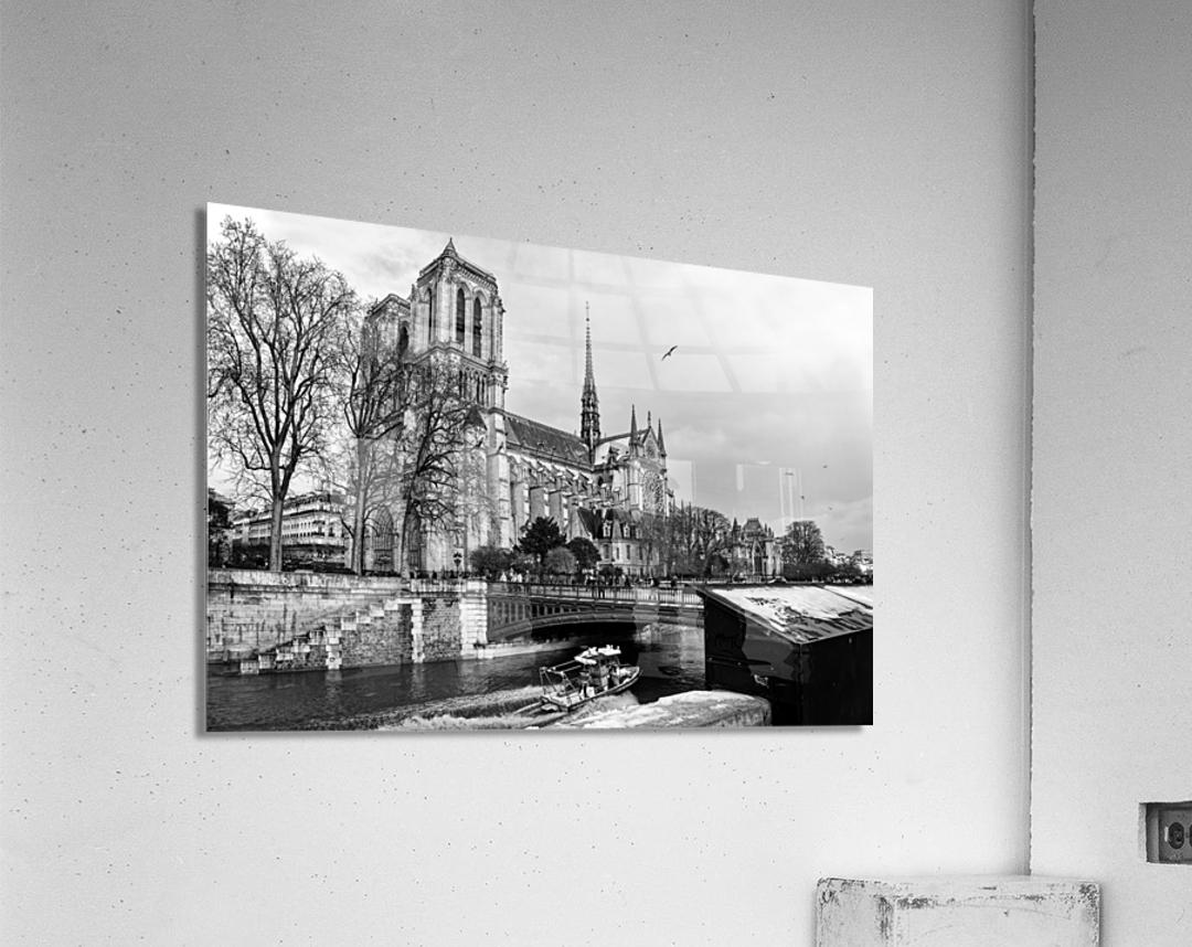 Parisian river police  Impression acrylique