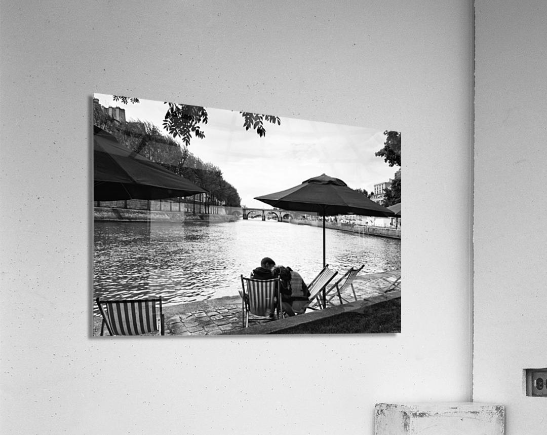 Paris lovers  Impression acrylique