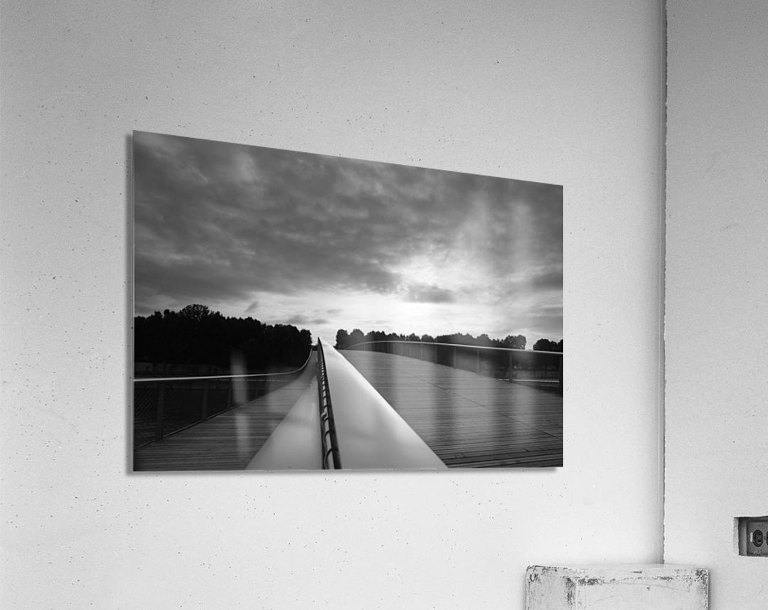 Follow the light  Impression acrylique