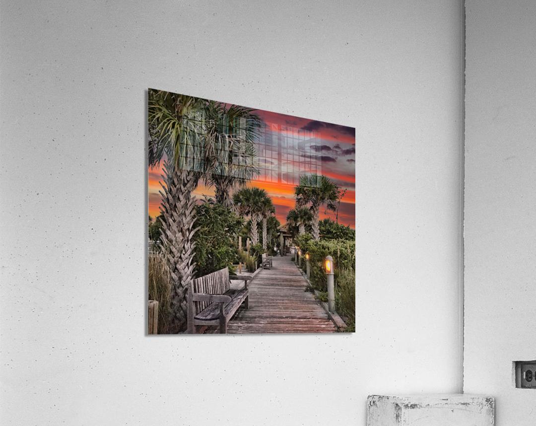 Anna Marie Sunset  Acrylic Print