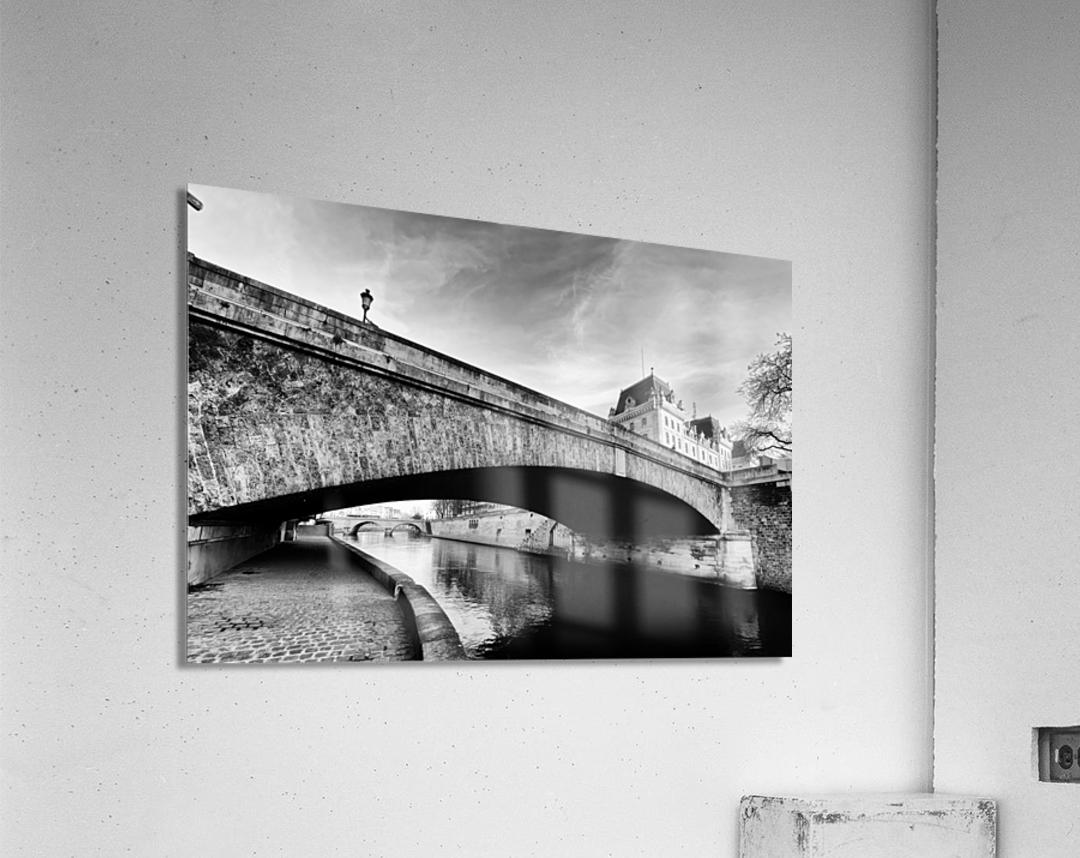 Petit pont   Impression acrylique