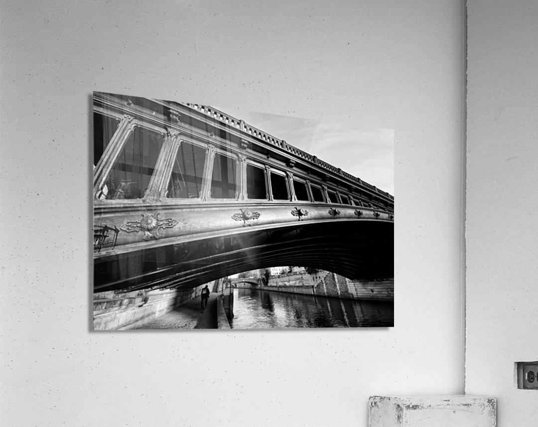 Pont au Double  Impression acrylique