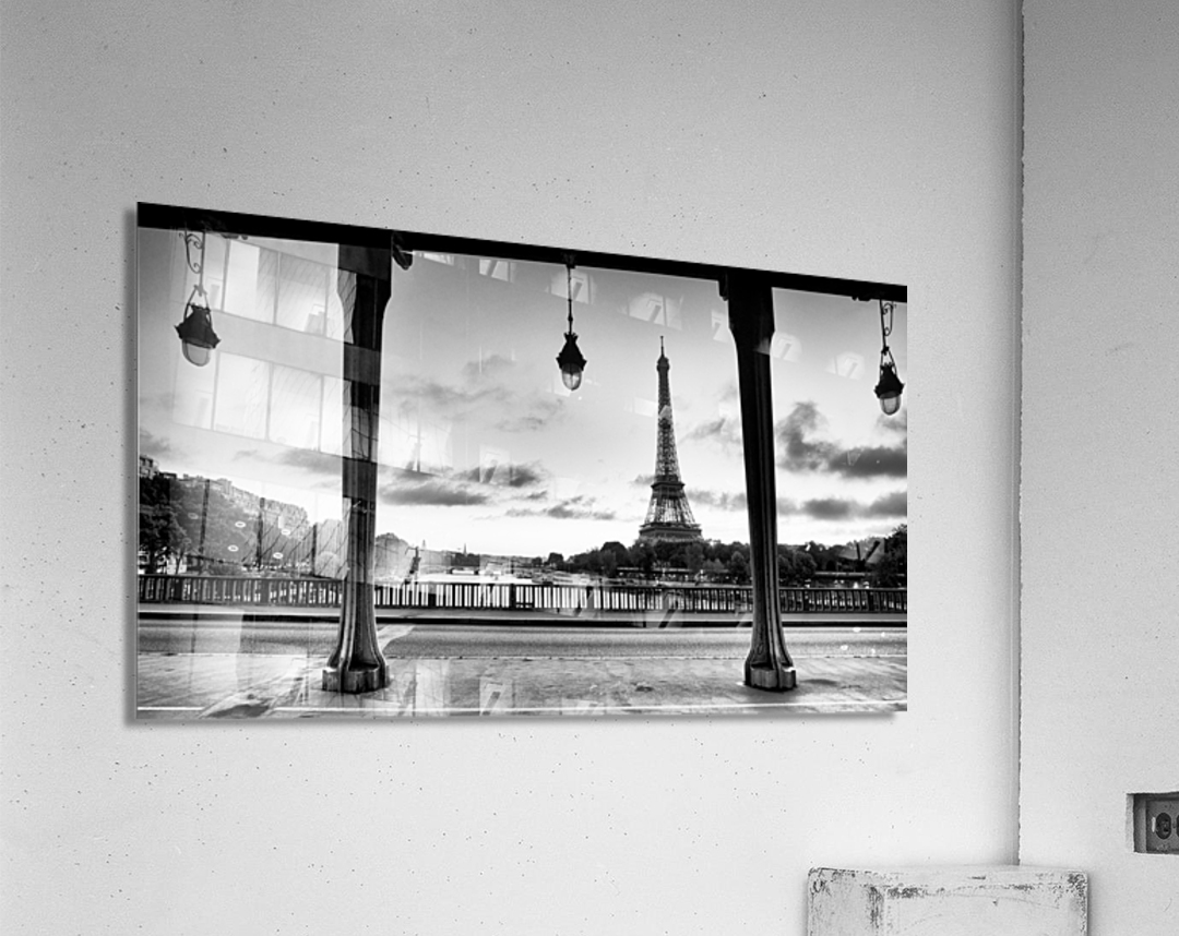 Bir-Hakeim  bridge                                   Impression acrylique