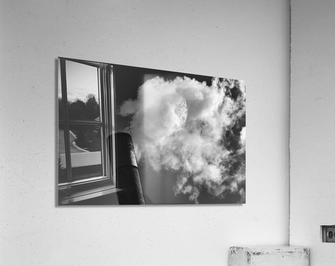 SMOKESTACK NUMBER TEN  Acrylic Print