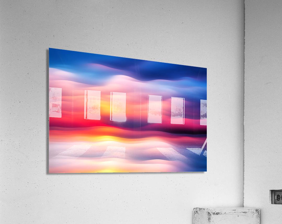 Abstract Movement XVIII  Acrylic Print