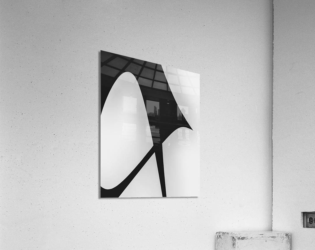 Abstract Sailcloth 5  Acrylic Print