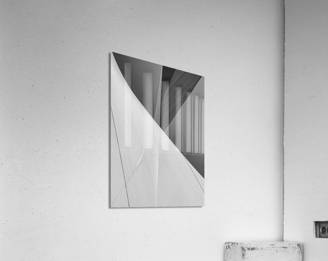 Abstract Sailcloth 2  Acrylic Print