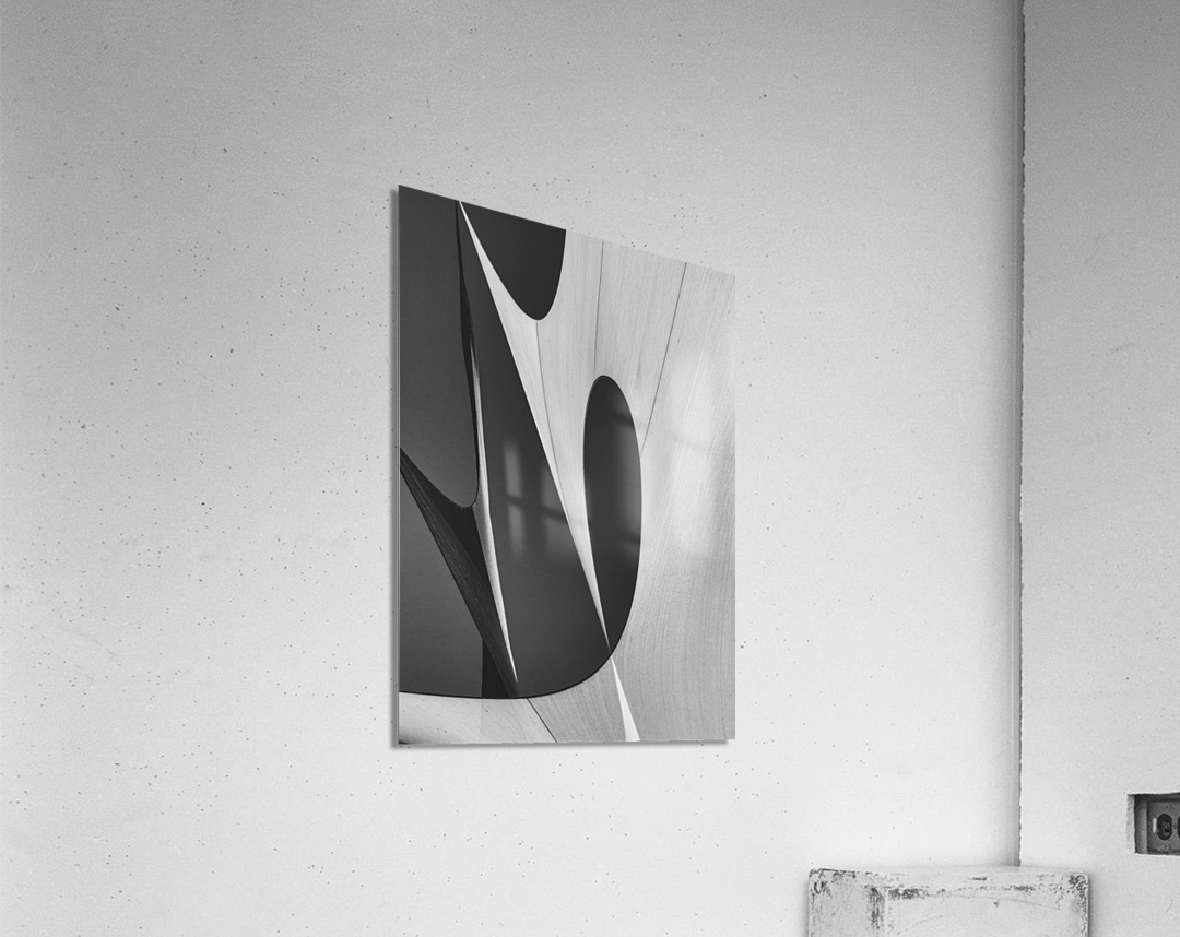 Abstract Sailcloth 10  Acrylic Print