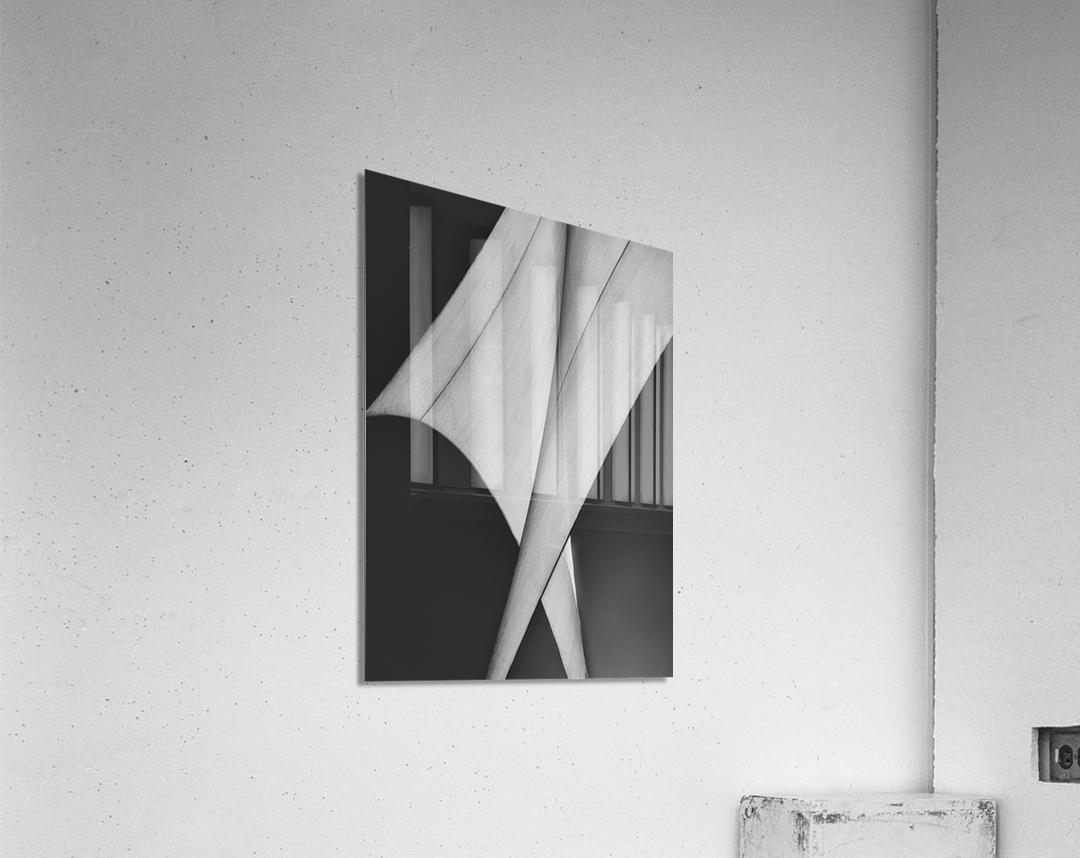 Abstract Sailcloth 9  Acrylic Print