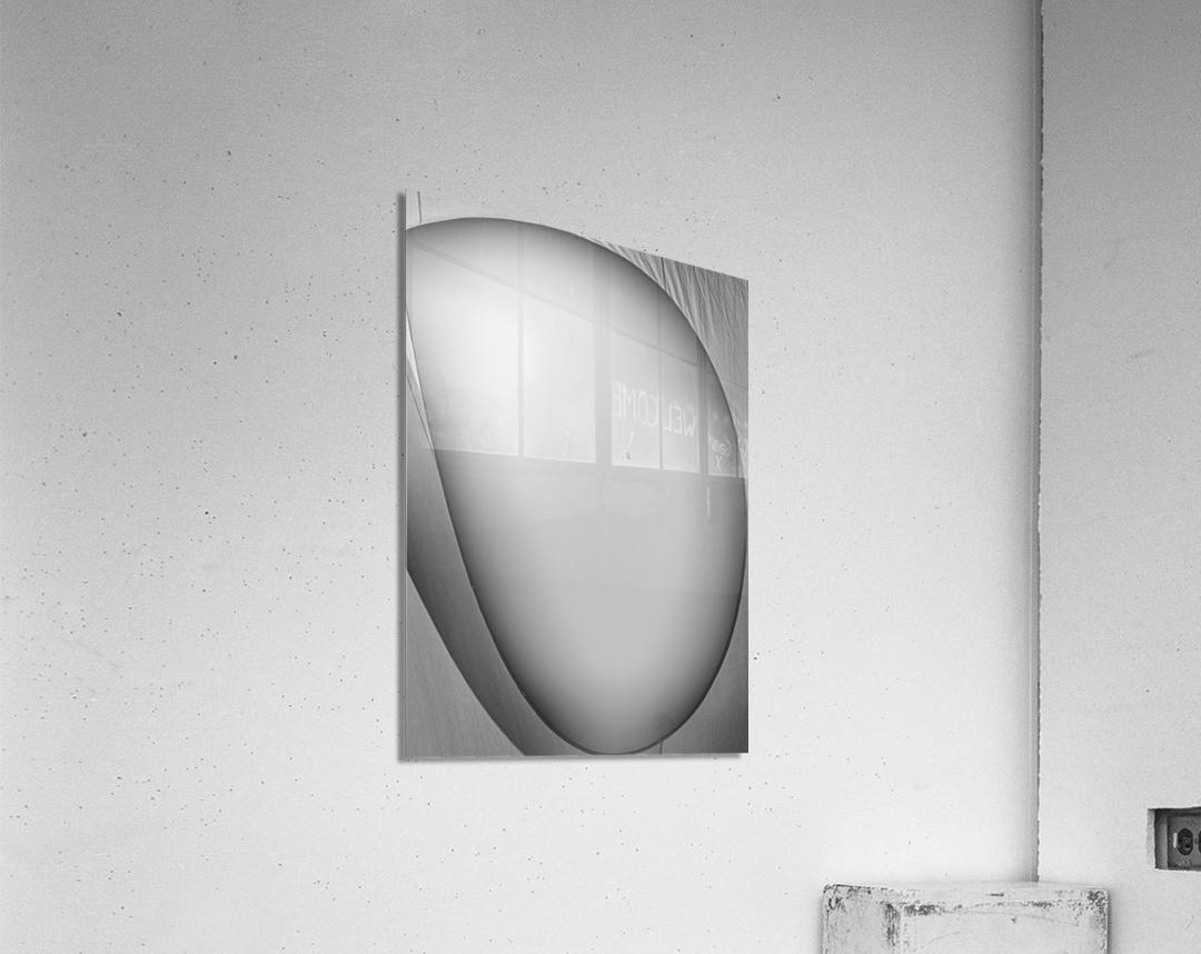 Abstract Sailcloth 6  Acrylic Print