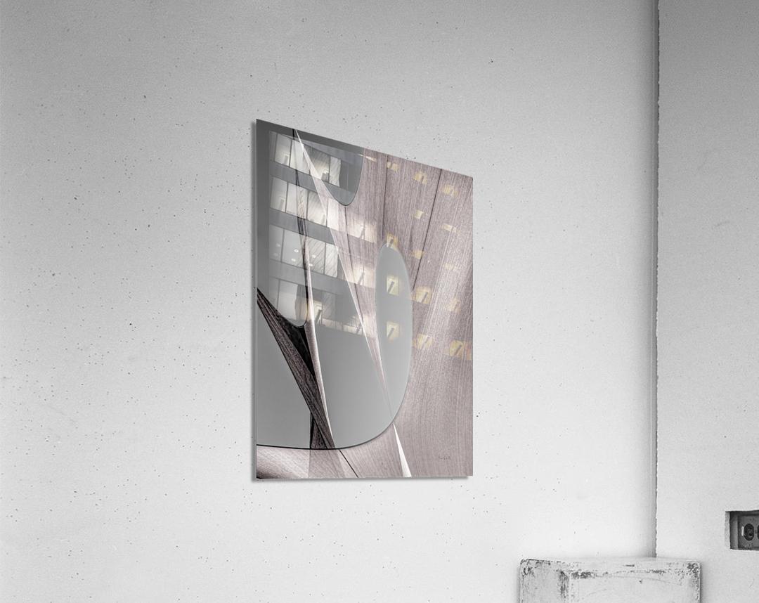 Abstract Sailcloth 20  Acrylic Print
