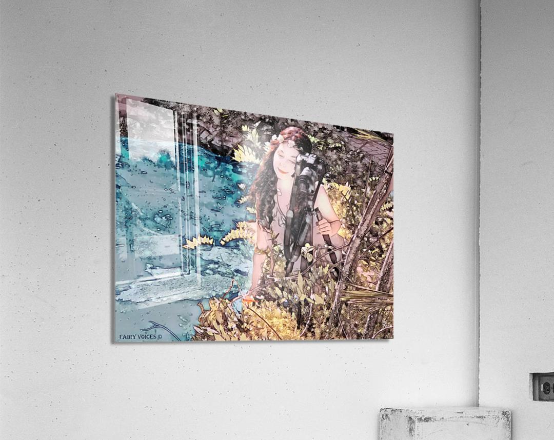 FAIRY AND THE LAKE - Art-Photo  2-4  Acrylic Print