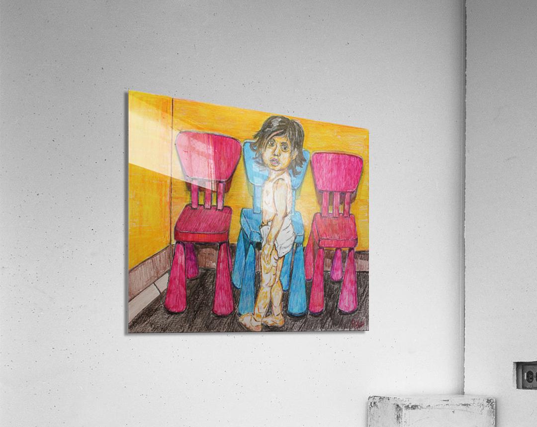 Bluepink  Acrylic Print