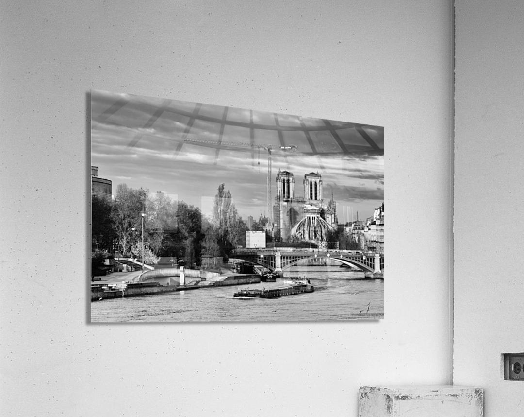 Under construction  Impression acrylique