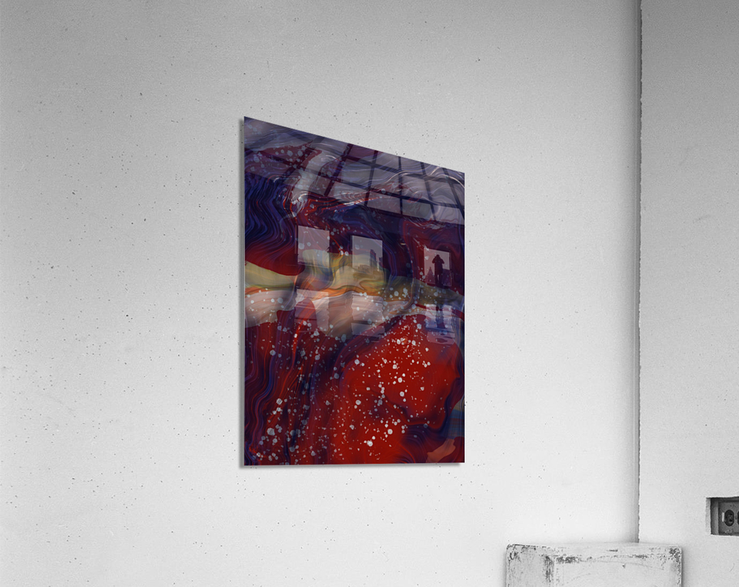 The Universe is Conscious   Acrylic Print