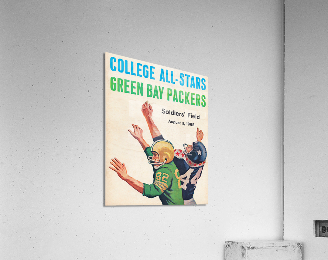 1962 Green Bay Packers vs. College All-Stars  Acrylic Print