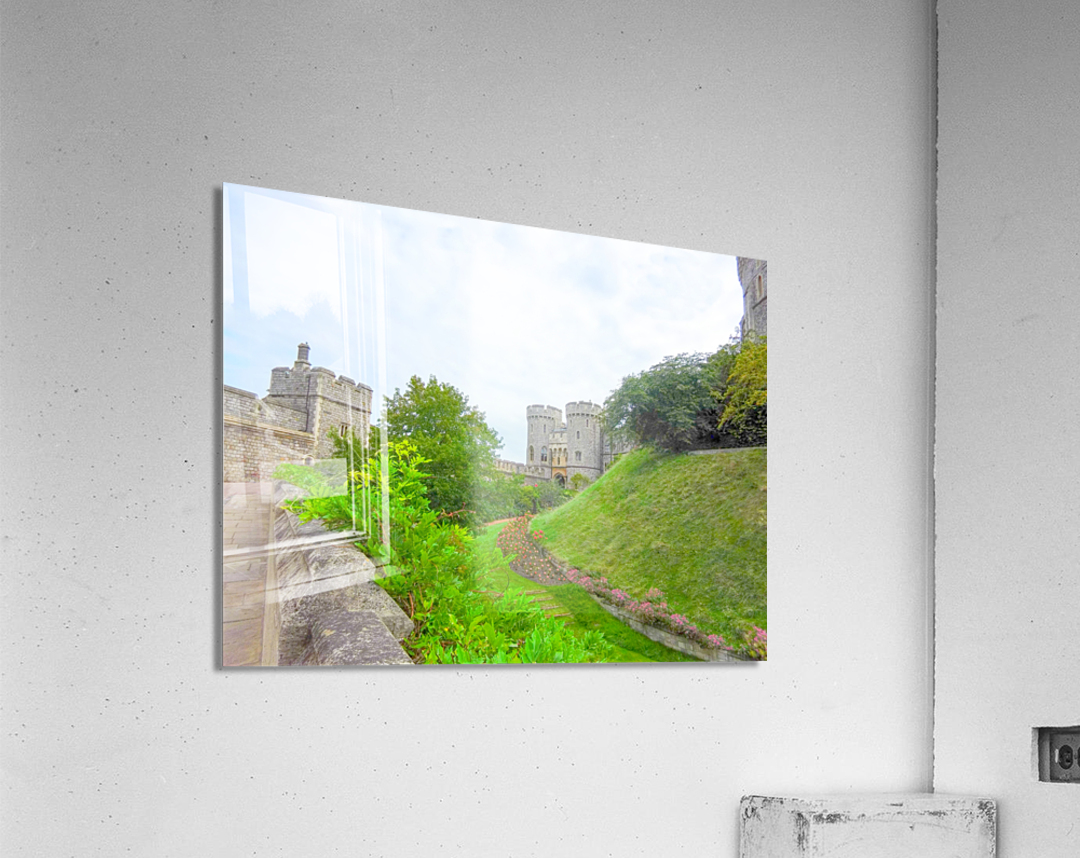 Windsor Castle 2 - Berkshire United Kingdom  Acrylic Print
