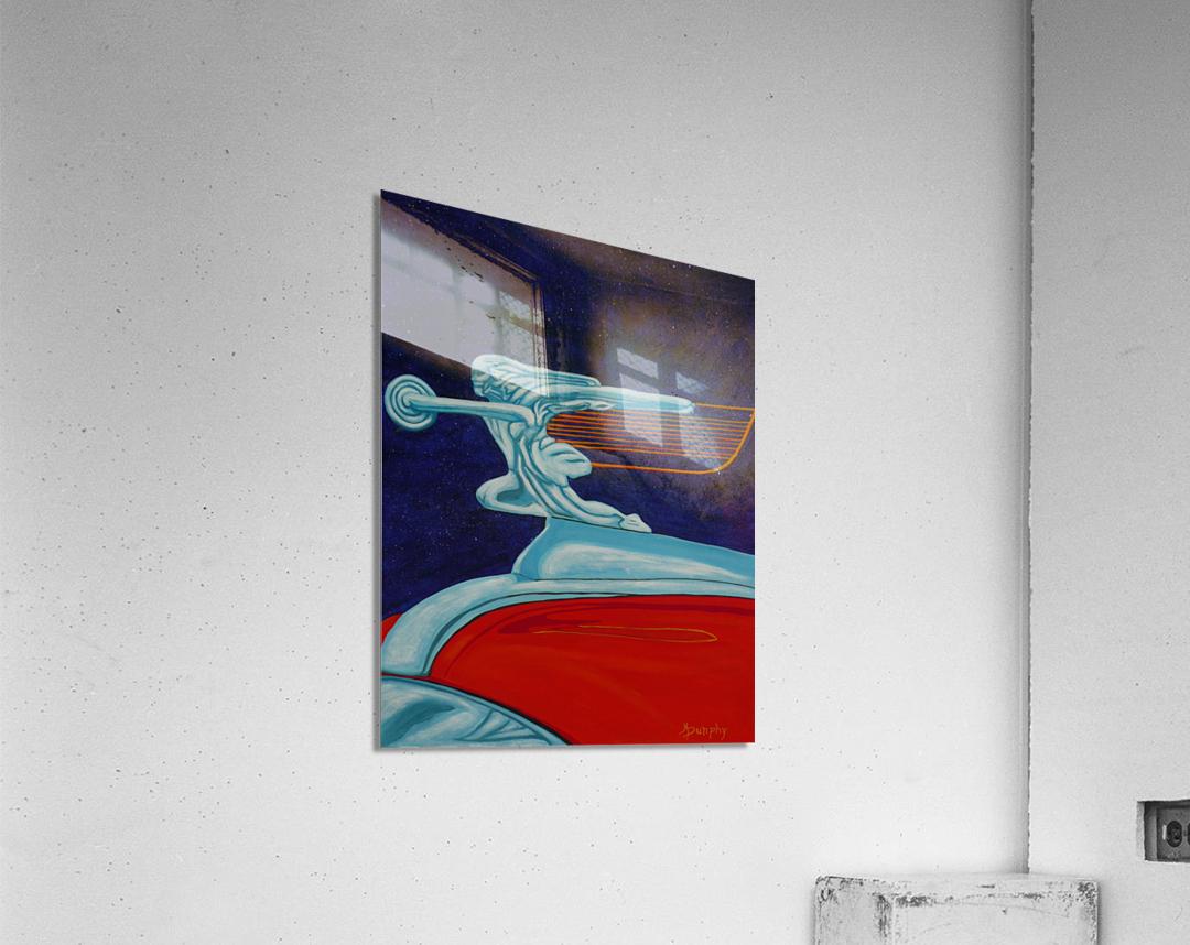 art deco car  Acrylic Print